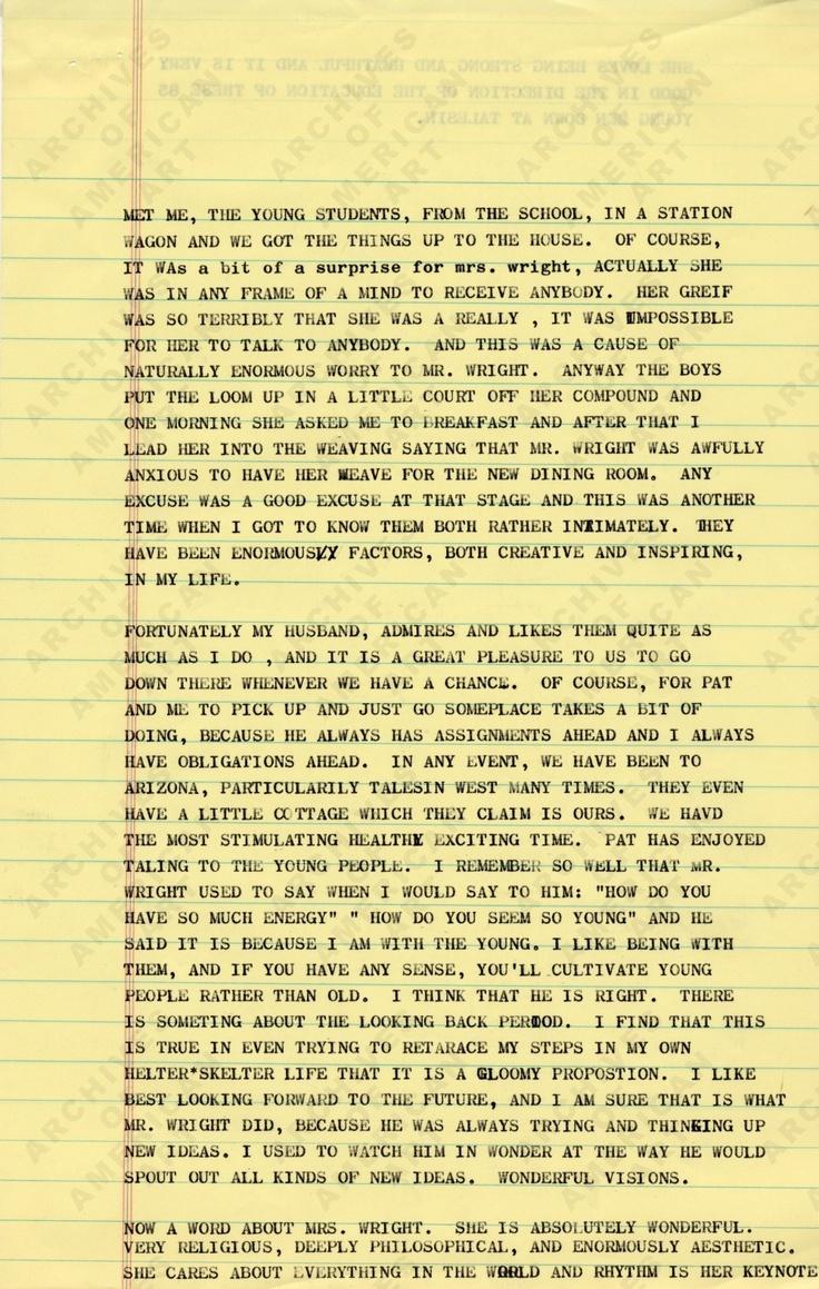 Frank Lloyd Wright's Fallingwater - Sample Essay