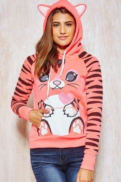 Graphic Animal Hoodies from Urban Planet - only $24!