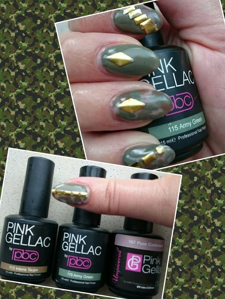 shared Lydie Addink's photo. Helemaal happy met mijn camouflage nagels.
