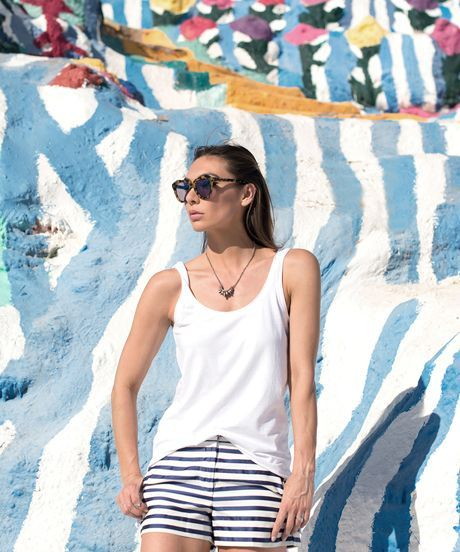 Fourth Of July Outfits - San Francisco Bloggers | See outfit inspiration for the Fourth of July weekend courtesy of San Francisco bloggers. #refinery29 http://www.refinery29.com/fourth-of-july-blogger-outfits