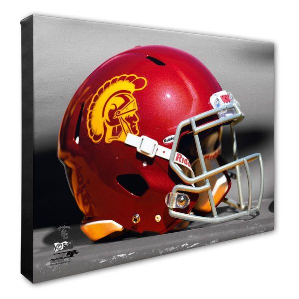 """USC Trojans 16"""" x 20"""" Helmet Photo - $79.99"""