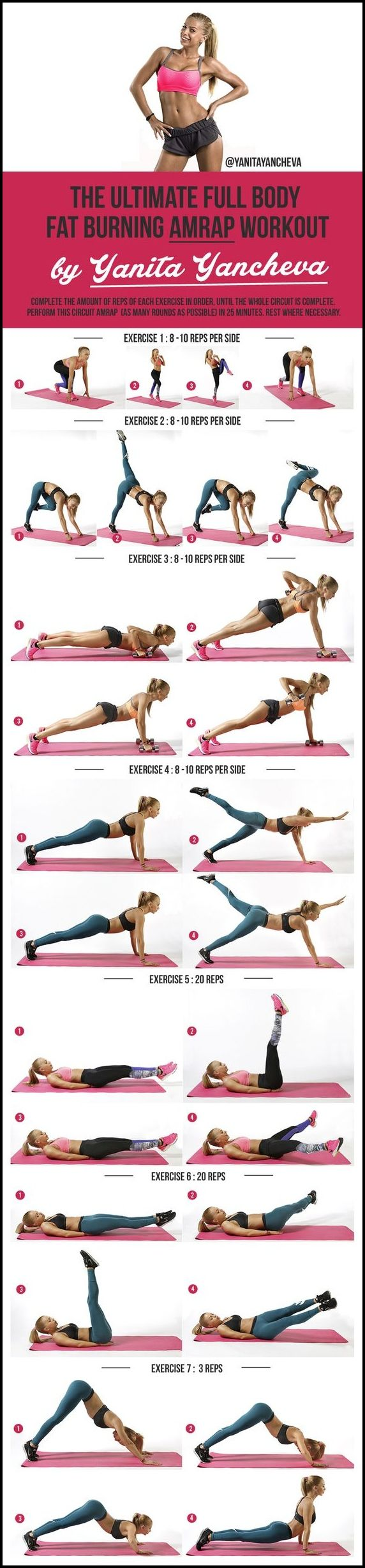 Full Body-Amrap  #weightloss #loseweight #howtoloseweight #Workout #fitness #exe…