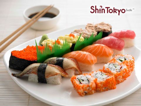55% OFF, $15 for Eat-All-You-Can Sushi Buffet + Ramen of the day + Iced Green Tea at Shin Tokyo (Next to Clementi MRT)! Halal Certified