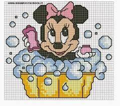 Resultado de imagem para graficos da disney baby em ponto cruz