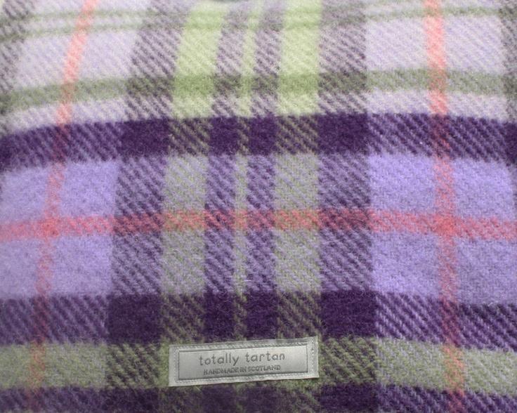 Totally Tartan - Purple Plaid Pastel Plaid Wool Throw, £50.00 (http://www.totallytartan.net/purple-plaid-pastel-plaid-wool-throw/)