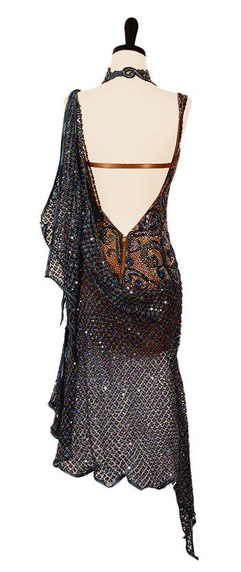 Goddess of the Sea | Rhythm & Latin Dresses | Encore Ballroom Couture