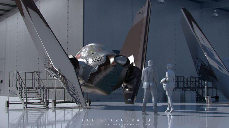 Ship Design, Lee Fitzgerald on ArtStation at https://www.artstation.com/artwork/gPOZQ