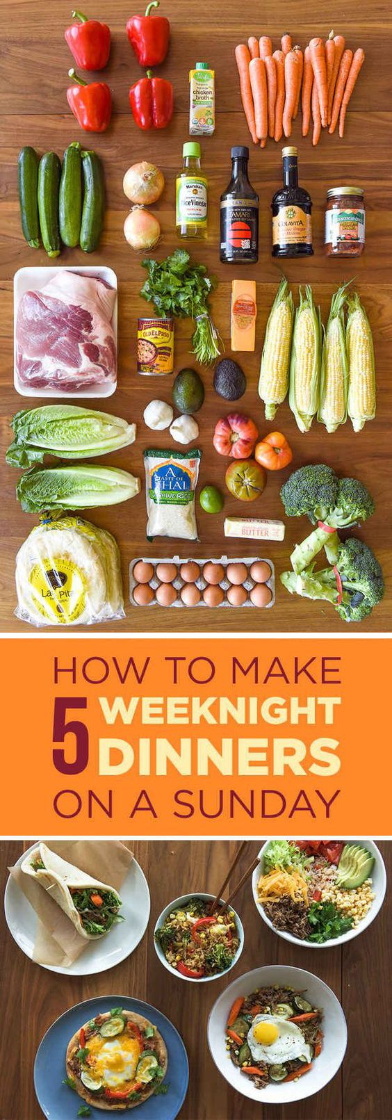 Here's A Make-Ahead Meal Plan That Anyone Can Cook