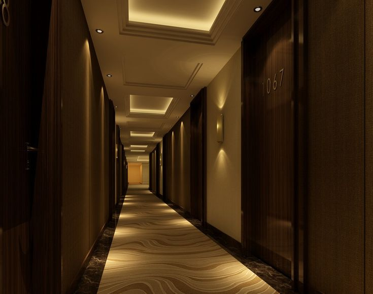 Home tips corridor wallpaper design ideas corridor for Nice hotel design