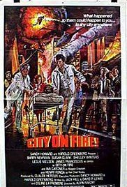 City on Fire (1979) Barry Neuman, Susan Clark, Shelly Winters