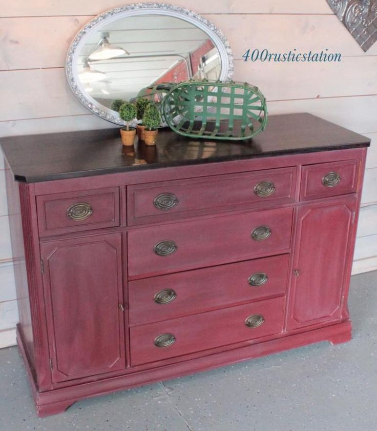 red painted furniture on pinterest miss mustard seeds milk paint