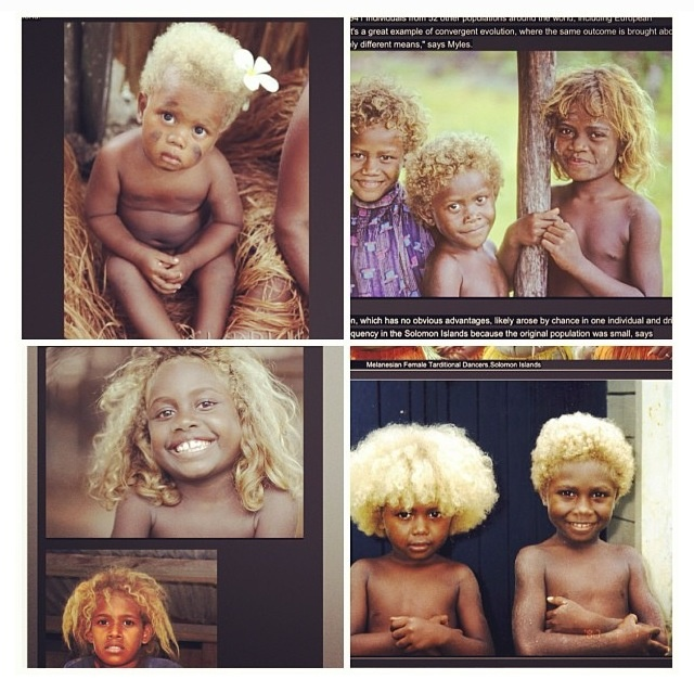 Melanesian Africans of Solomon Islands!