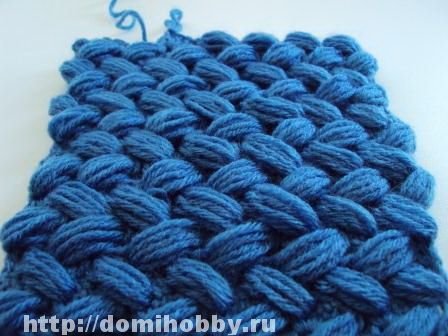 Russian site, but the picture tutorial is pretty good. Name of stitch roughly translates to woven/braided puff stitch.