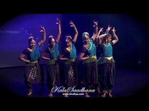 Shiva Stotram Fusion dance - Norway tamil film festival. 2015 - YouTube