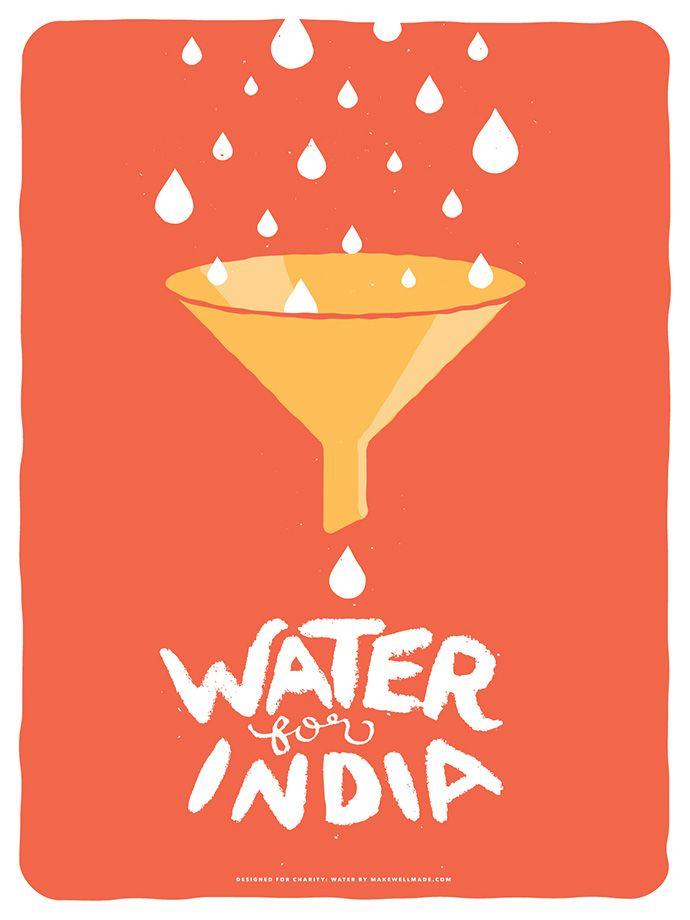 Charity: Water Poster Series /Jonathan & Melissa Motzkin of Makewell