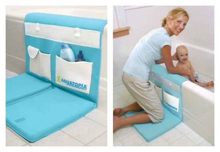 A bath time essential! nothing worse than your knees hurting while giving your baby a bath! This makes it fun and comfortable for everyone