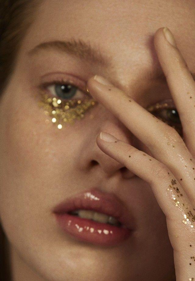 Beleza brilho glitter (Foto: Hugo Toni)