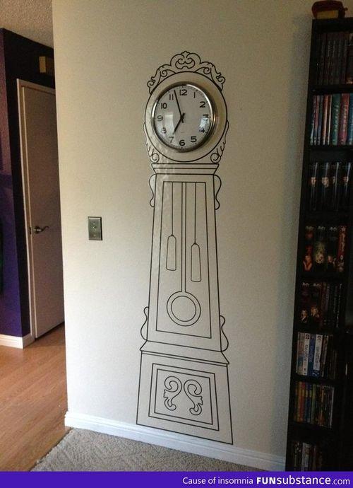 Couldn\'t afford a grandfather clock. Close enough - FunSubstance.com