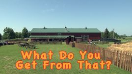 Cows give us the milk we drink every day. We use that milk to make lots of other things we enjoy like ice cream, cheese, butter and cream. In this video, children learn about different animals on a farm and the everyday items we get from them. This resource is part of the KET Everyday Science collection. After watching the video, students can use the quiz below as a review. Click the What Do You Get From That? Follow-up Quiz link to get started.