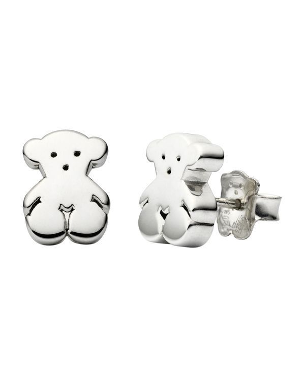 "Tous Bear Stud Earrings | Made in Spain | 0.5""L 