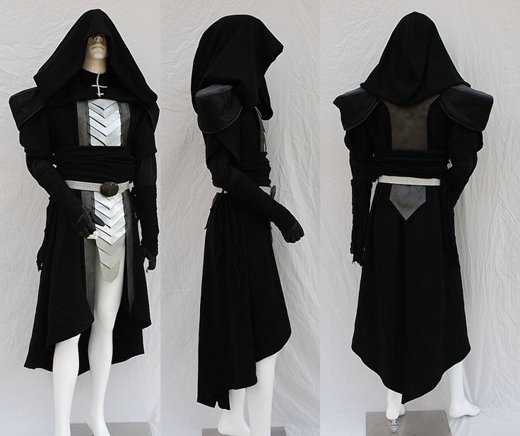 Sith Lord Custom Costume -A costume the James could wear for his character in the movie.