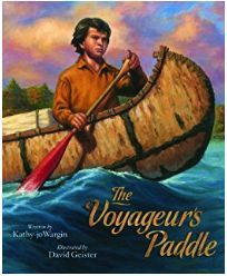 Free downloadable Pick and Choose Literature Study The Voyageur's Paddle. www.creativehomeschoolmom.blog