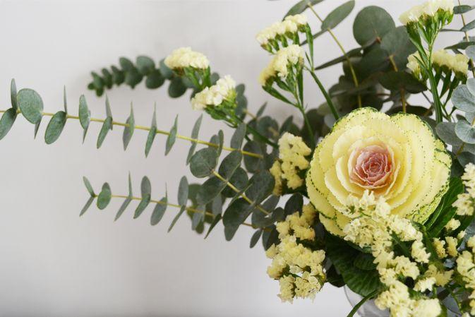 Flowers_fiori_cavolo_eucalipto_yellow_giallo