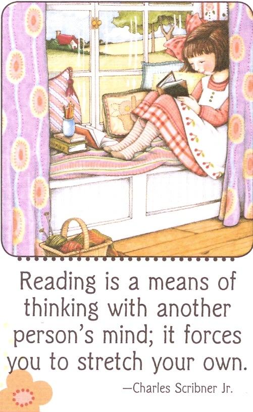Reading by Mary Englebreit