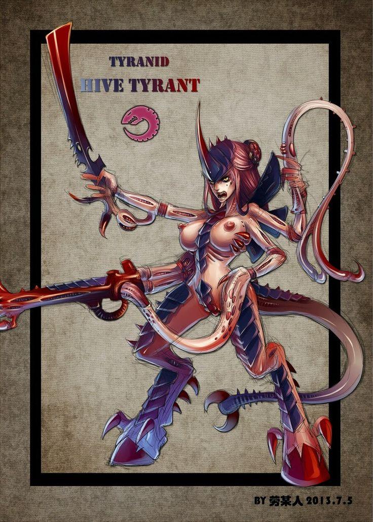 #warhammer #warhammer40000 #вархаммер #вархаммер40000 #wh40k #art #faphammer #girl #40000 #cards #wh40000 #sexy #girls #fantastic #фантастика #тиранид #тираниды #tyrant #tyranid