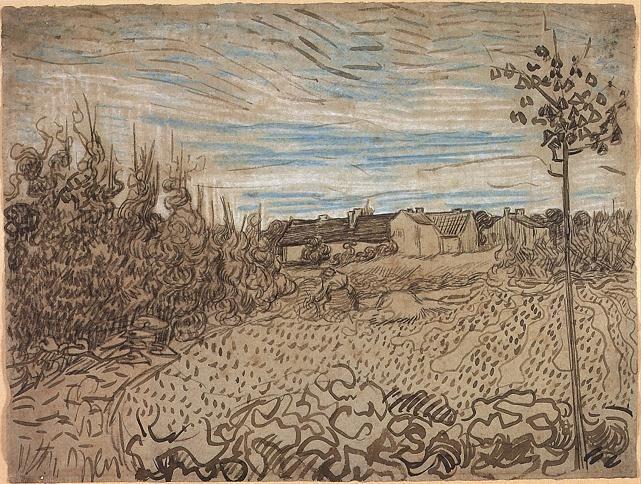 Vincent van Gogh: Cottages