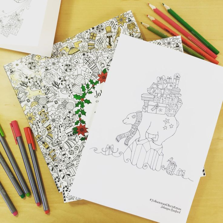 Johannas Christmas Colouring Competition