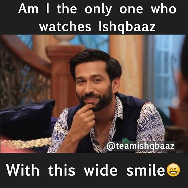 Double tap if you too have this wide smile while watching #ishqbaaz @nakuulmehta