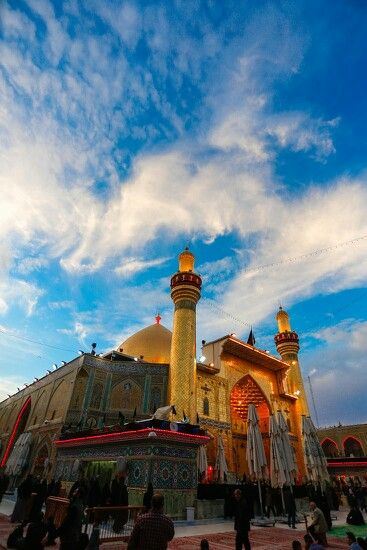 Maula Ali Shrine Wallpaper: The Imam Ali Shrine