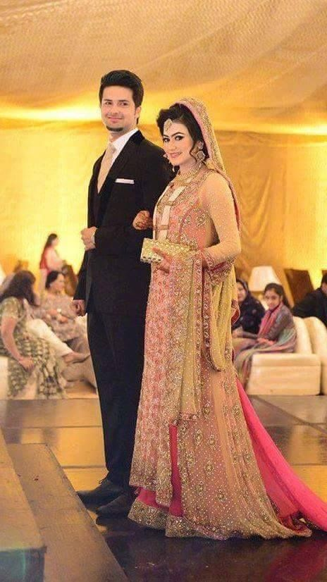 Pakistani bride and groom not Indian