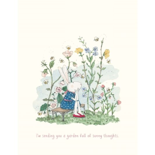 Twigseeds | Ruby Red Shoes Greeting Card | I'm Sending You A Garden Full Of Sunny Thoughts from Milk Tooth
