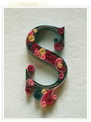 8da0eadd4f0d352a1de1d8c524f22469--quilling-ideas-quilling-art Quilling Letter Template D on