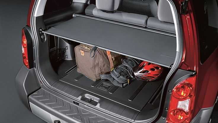 Jeep Used Cars >> Retractable Cargo Cover | Nissan Xterra | Nissan xterra ...