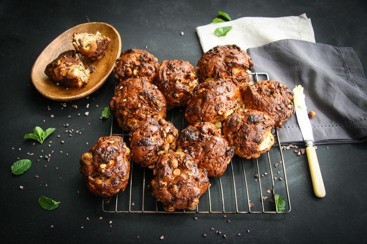 Chocolate and hazelnut loaf