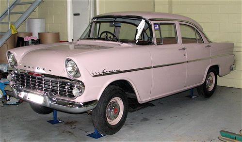 1961 Holden Special (EK) sedan (model 225)