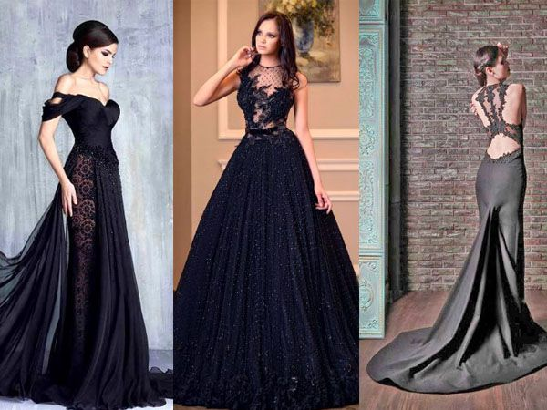 Siyah Gelinlik Modelleri / Black Wedding Dress