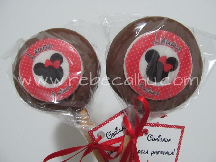 cookie pops covered filled n covered with chocolate