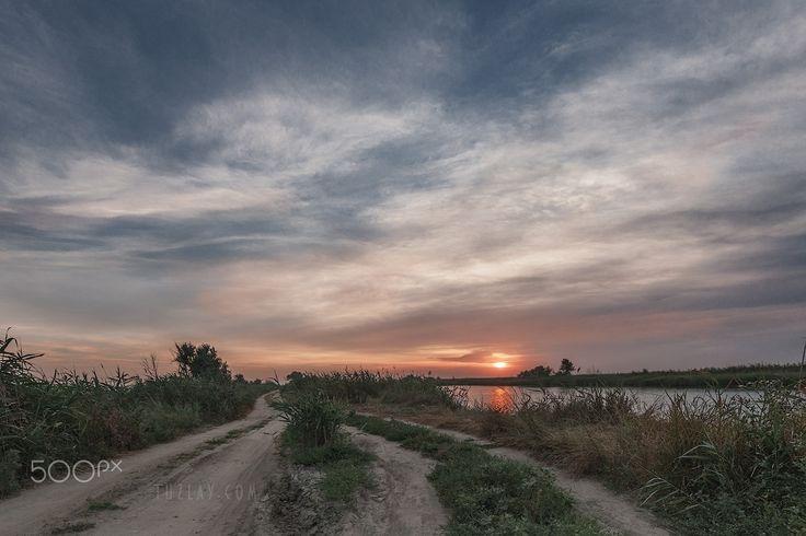 Land of fishermen - Taman Land - also known as the Taman Peninsula, he also Temryuk district of the Krasnodar Territory. Russia.