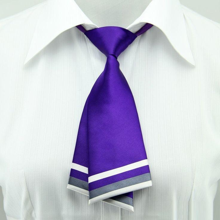 Korean Women Neck Tie Female Occupation College Students Uniform Collar Business Print Neck Ties
