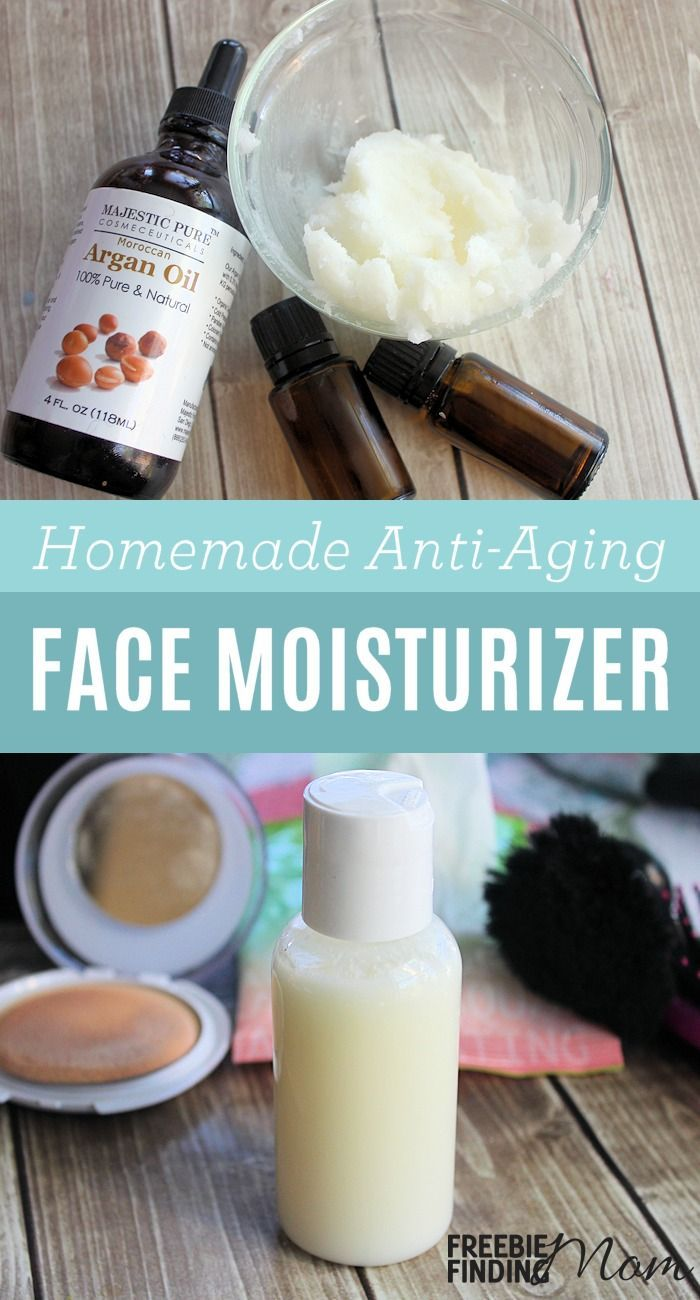 All Natural Homemade Face Moisturizer Recipes: Anti-Aging Face Moisturizer