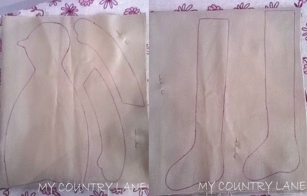 """my country lane: Tutorial Tilda  """"The good witch"""" (parte prima)"""