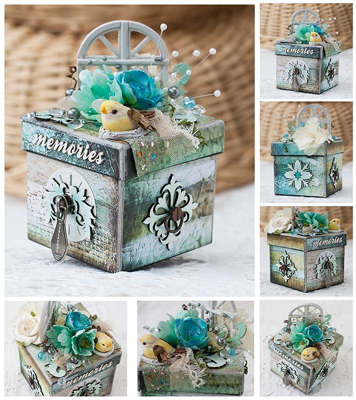 Altered box for 7 Dots Studio - Scrapbook.com