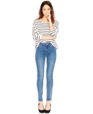 Levi's® 721 High-Rise Skinny Jeans, Windblown Wash