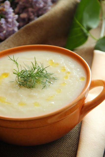 Kuchnia w wersji light: Zupa krem ze białych warzyw