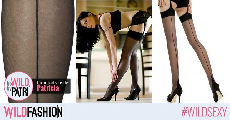 Buna, fetelor! Stiati ca ciorapii negri, care au o linie fina neagra desenata pe spate, sunt considerati cei mai sexy si irezistibili?
