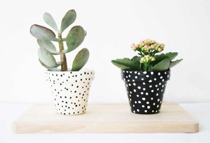 HOME | Painted pots